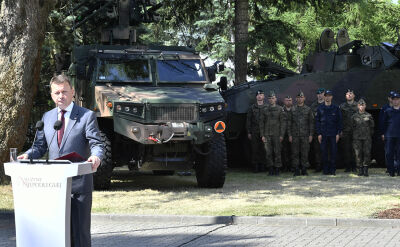 Błaszczak o tworzeniu Wojsk Obrony terytorialnej