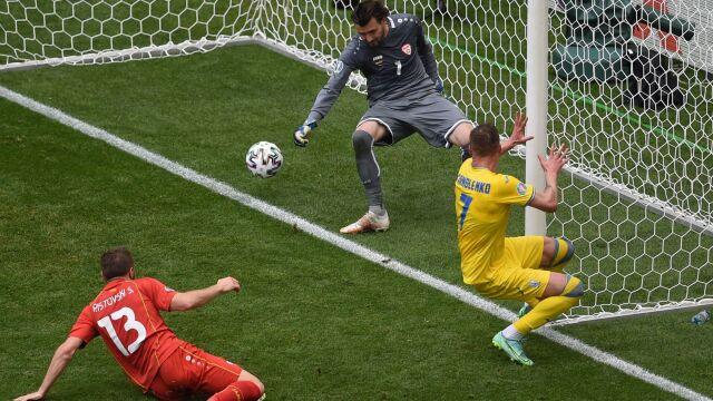 Ukraińcy pokonali Macedonię Północną. Sprawę załatwili w pięć minut
