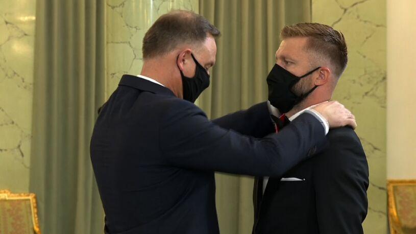 Prezydent odznaczył Jakuba Błaszczykowskiego