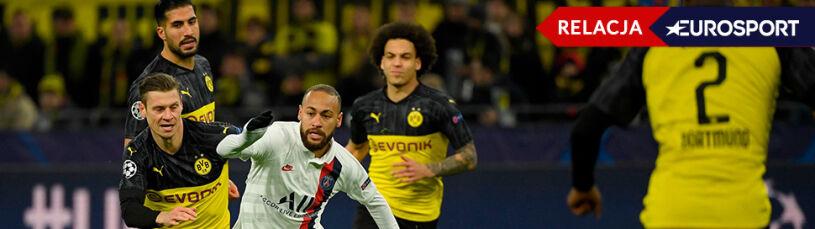 Borussia ograła PSG, obrońcy tytułu polegli w Madrycie. Pierwsze mecze 1/8 finału LM