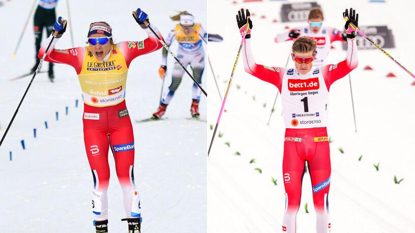 Norwegowie rządzili u siebie w sprincie. Życiowy sukces Kamila Burego