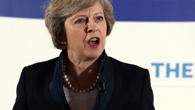 Poszła dalej niż zwolennicy Brexitu.  Pomysły przyszłej premier na imigrację