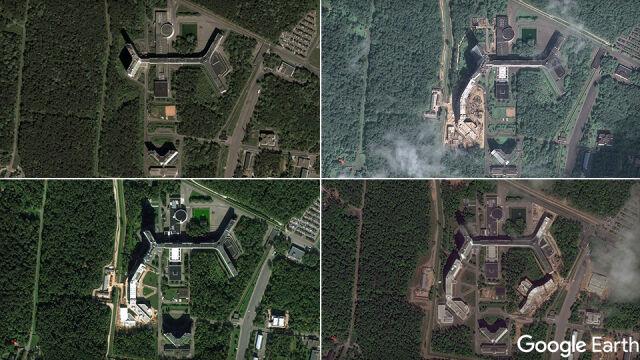 Tajemniczy wieżowiec i zdjęcia z satelity. Stąd Rosja szpieguje cały świat