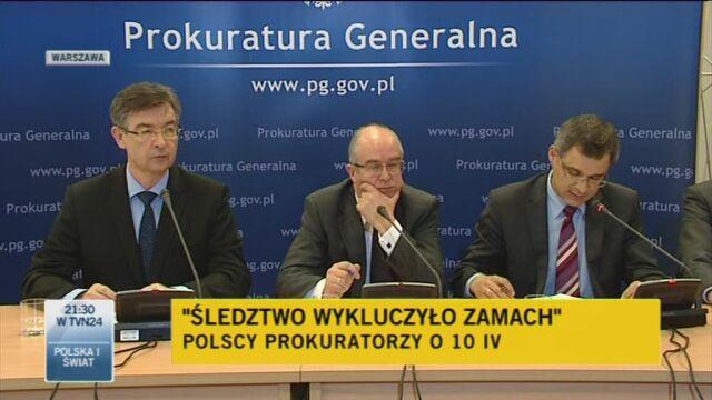 Konferencja prokuratorów, część 3 (TVN24)