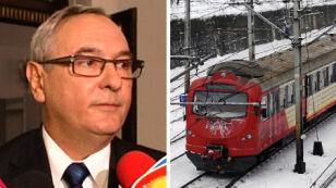 Minister przeprasza za rozkład, ale nie za zimę
