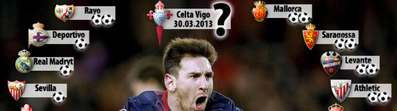 Messi golem zatoczy koło? Został ostatni klub, któremu nie strzelił