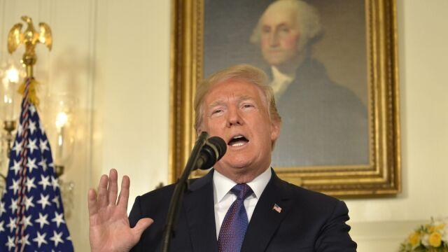 Trump: nakazałem precyzyjne uderzenia na Syrię