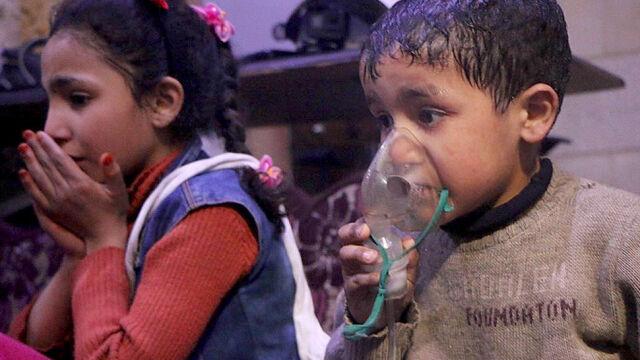 Wstępny raport OPCW: podczas ataku w syryjskiej Dumie użyto chloru