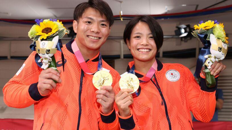 Dwa złote medale w kilkanaście minut. Japońskie rodzeństwo przeszło do historii