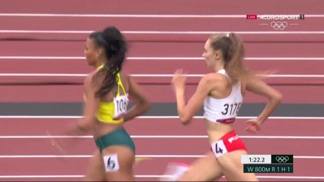 Tokio. Sarna czwarta w biegu na 800 metrów