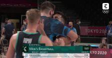 Tokio. Skrót meczu Argentyna - Słowenia w koszykówce mężczyzn
