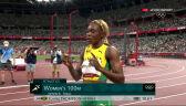 Tokio. Cały bieg finałowy na 100 m kobiet wygrany przez Thompson-Herah