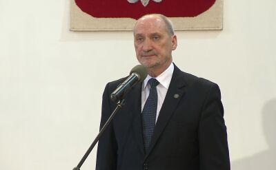 Minister Obrony przedstawia skład komisji i podkomisji