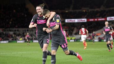 Ważny gol Klicha. Leeds coraz bliżej awansu