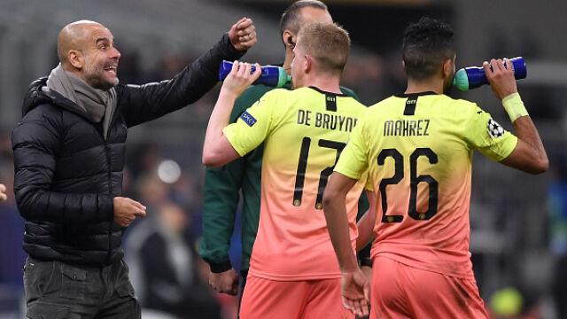 """Guardiola uspokaja przed meczem z Realem. """"Jeśli nie zostanę zwolniony, zostanę"""""""