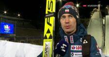 Stoch po piątkowym konkursie w Lahti