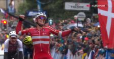 Skrót wyścigu elity mężczyzn w mistrzostwach świata w Yorkshire