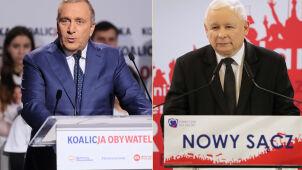 Schetyna o praworządności. Kaczyński: antypaństwowe słowa