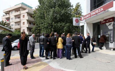 """Cypryjski system finansowy jak """"nadmuchany balon, który jest przekuwany"""""""