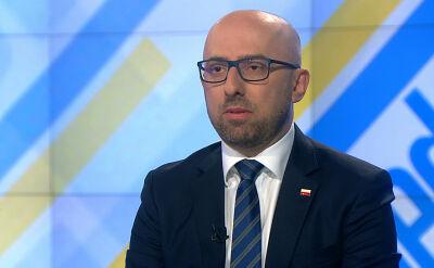 """Krzysztof Łapiński w """"Jeden na jeden"""""""