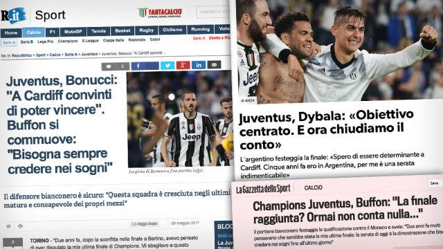 """Juve szybko zapomniało o Monaco. """"Jeszcze nic nie osiągnęliśmy"""""""