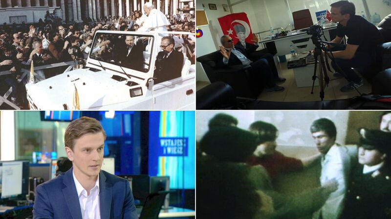 Reporter TVN24 rozmawiał z Alim Agcą