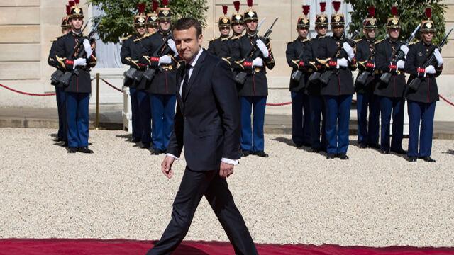 """""""Świat i Europa potrzebują teraz silnej Francji"""". Macron został zaprzysiężony na prezydenta"""