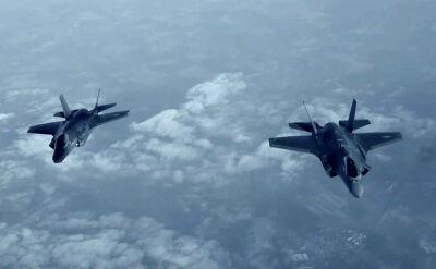 Pierwsza misja F-35 nad Europą