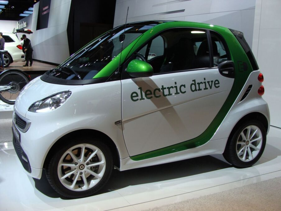 Smart Fortwo Coupee electric drive