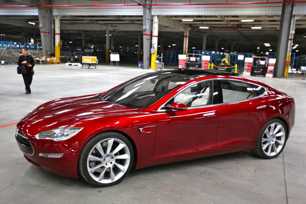 Tesla Model S Indoors