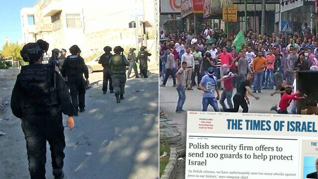 """Polska firma chce bronić Żydów przed nożownikami. Na własny koszt. """"Nasz wkład w pokój"""""""