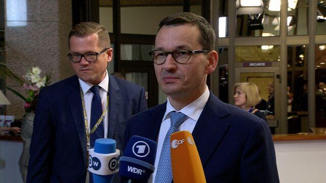 Morawiecki: to bardzo dobry kompromis