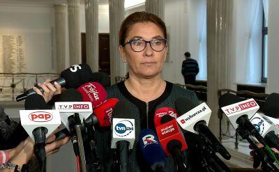 Mazurek: dodatkowe posiedzenie Sejmu w sprawie szefa KNF nie jest potrzebne