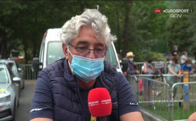 Dyrektor Groupama - FDJ o problemach Pinota na 8. etapie Tour de France