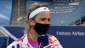 Azarenka po pokonaniu Świątek w 3. rundzie US Open