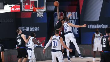 Leonard jak Jordan. Clippers wygrali batalię z Mavericks