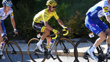 Nie wygrał etapu, ale zachował żółtą koszulkę.