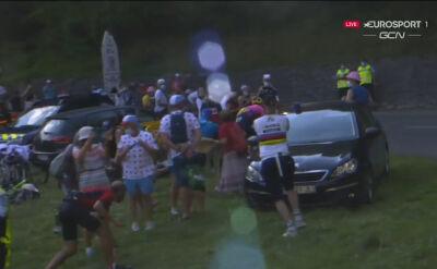Powless ratował się wyjazdem poza trasę na 8. etapie Tour de France