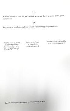 Projekt ustawy zaproponowanej przez rząd