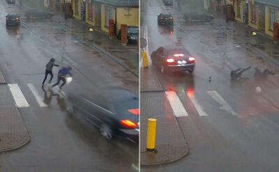 Pijany kierowca audi potrącił dwóch 14-latków