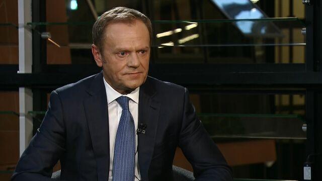 Donald Tusk o wecie prezydenta do tzw. ustawy degradacyjnej