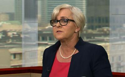 Kluzik-Rostkowska: sprawa ustawy degradacyjnej to temat zastępczy