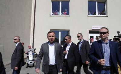 Andrzej Duda spotkał się z rannymi górnikami
