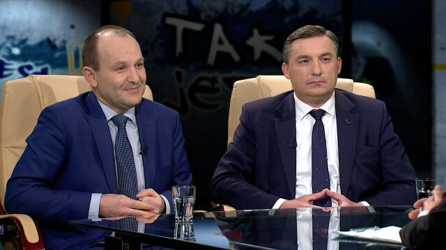 Sylwester Chruszcz i Marek Sowa w Tak Jest