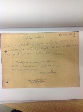"""Dokumenty z teczki personalnej tajnego współpracownika TW """"Bolek"""""""