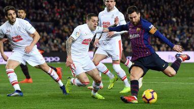 Pewna wygrana Barcelony. Messiego gol numer 400