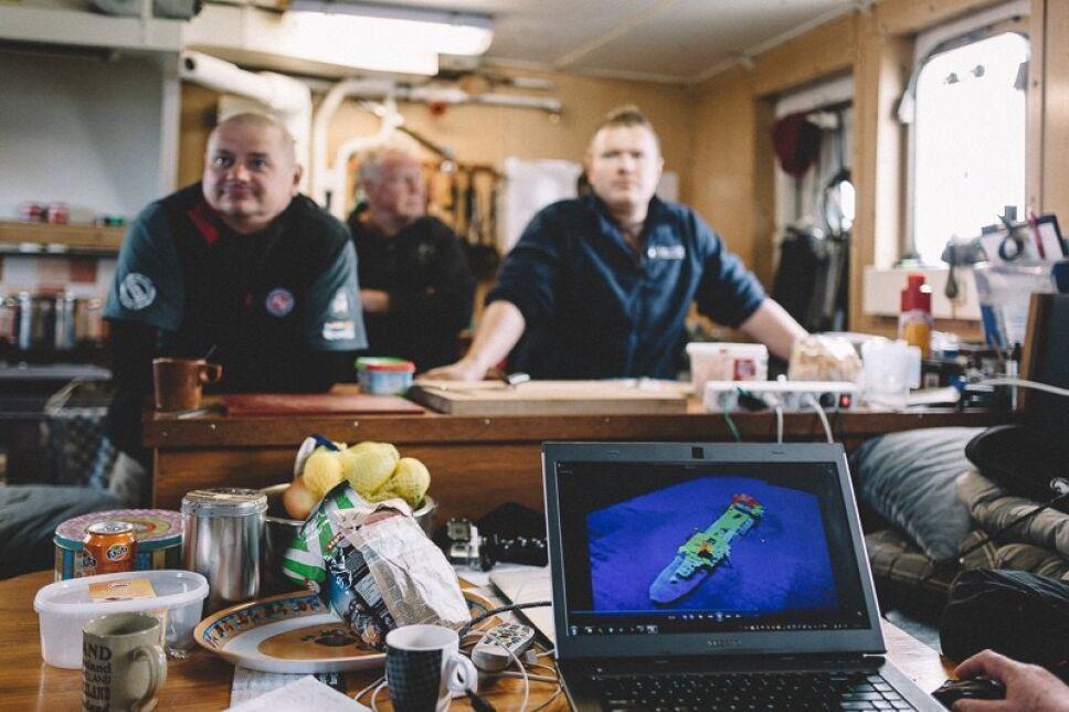 Polska ekipa przebadała 17 wraków spoczywających na dnie Morza Północnego