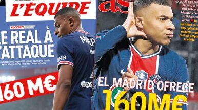 Gigantyczna oferta za Mbappe, zaskoczenie w Paryżu.