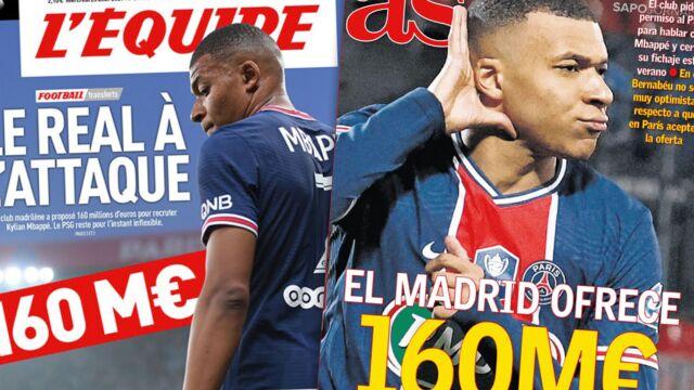 """Gigantyczna oferta za Mbappe, zaskoczenie w Paryżu. """"Real atakuje"""""""