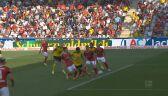Skrót meczu Freiburg – Borussia Dortmund w 2. kolejce Bundesligi